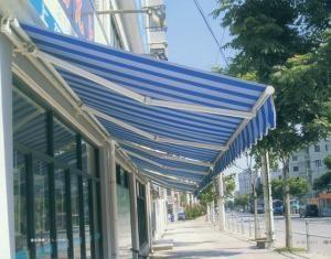 蘇州伸縮雨棚遮陽雨篷 1