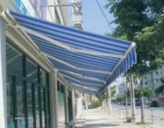 蘇州伸縮雨棚遮陽雨篷