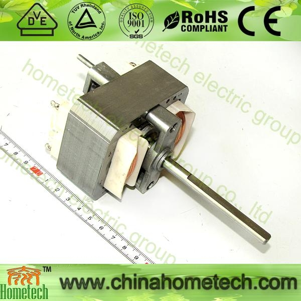 ac shaded pole motor 6833 with 8mm shaft 1