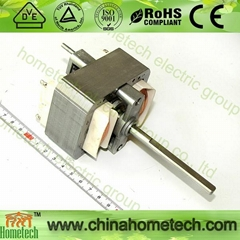 ac shaded pole motor 6833 with 8mm shaft