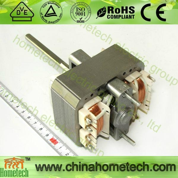 ac shaded pole motor 6833 with 8mm shaft 2