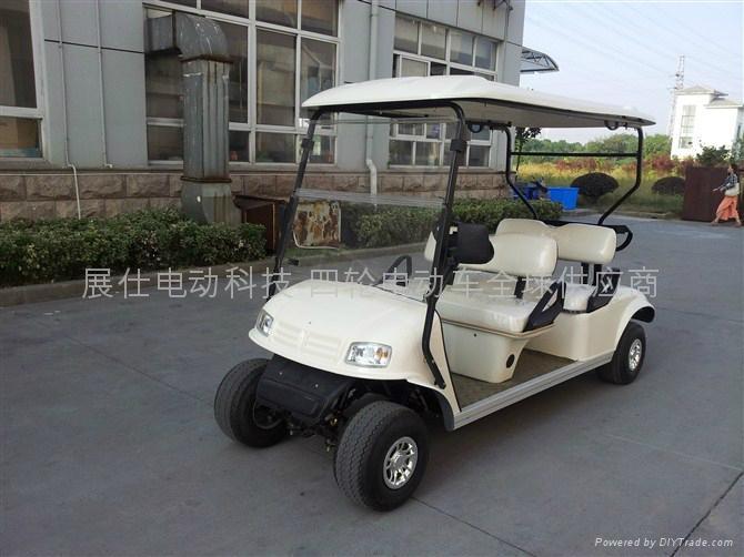 新款江苏4座电动高尔夫球车 1