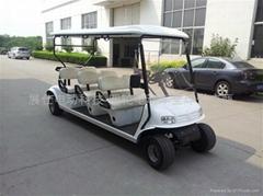 新款上海6座电动高尔夫球车
