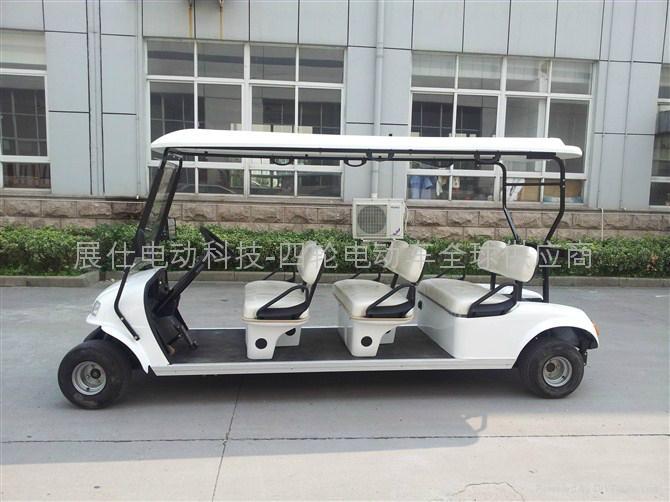 新款上海6座电动高尔夫球车 2