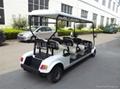 新款上海6座电动高尔夫球车 3