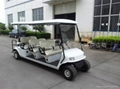 新款浙江8座电动高尔夫球车
