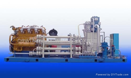 Natural Gas Engine Driven Air Compressor
