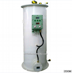 Water Bath Vaporizer for Liquefied Natural Gas
