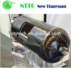 Fully Wrapped 80L Carbon Fiber Reinforced Aluminum Lined Composite CNG Cylinder