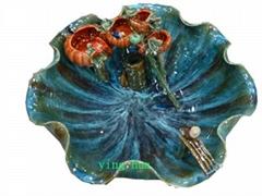 富貴竹瓷盆