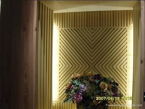 生态木塑吸音板 2