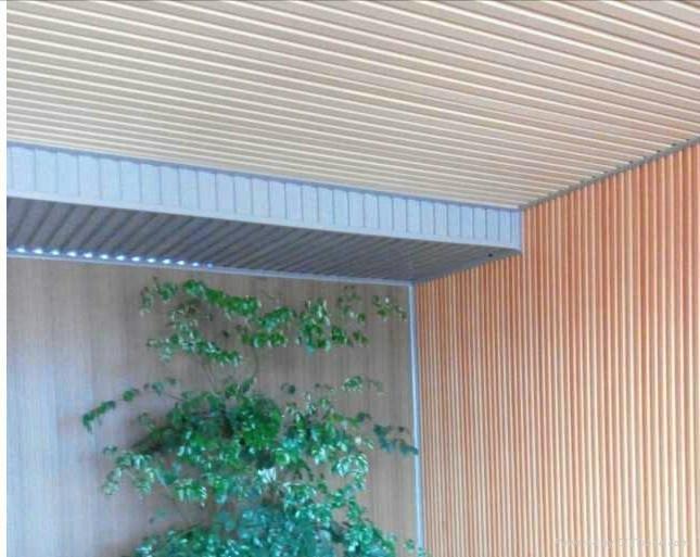 生态木塑吸音板 4