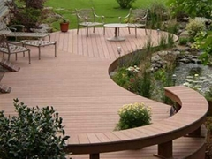 木塑景觀材料 戶外防滑地板