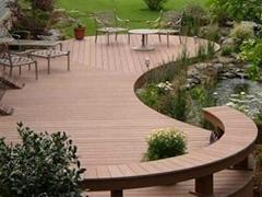 木塑景观材料 户外防滑地板
