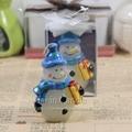 圍巾禮品雪人創意聖誕蠟燭 3