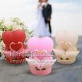 欧式创意新款天鹅婚庆婚礼蜡烛