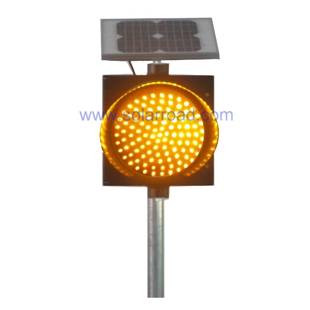Solar Traffic Warning Light  2