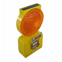 Solar Traffic Warning Barricades Light