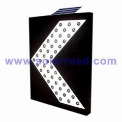 Solar Powered LED Directional Arrow Sign
