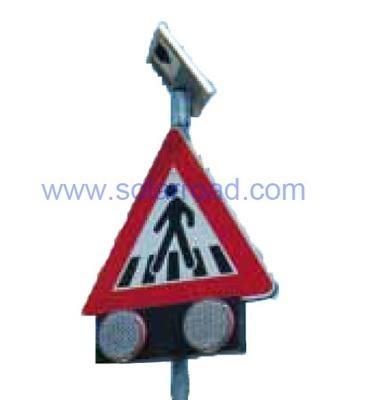 Solar pedestrian signs 1