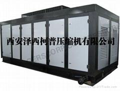 大排量螺杆活塞复合式高压压缩机