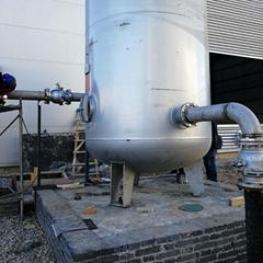 西安空压机储气罐管道一体式安装