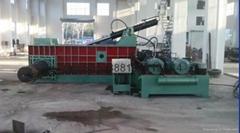 廢鋼廢鐵壓塊機