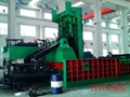 全自動大型廢鋼打包機 4