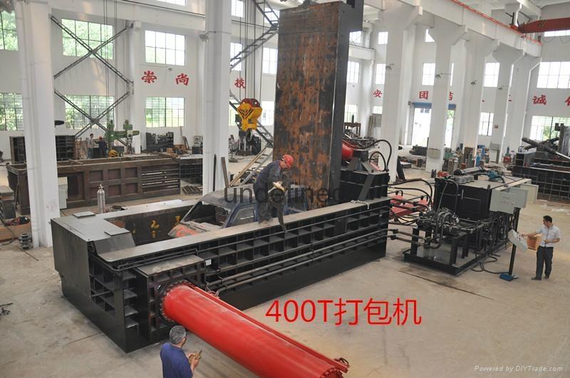 江陰全自動廢鋼液壓打包機 2