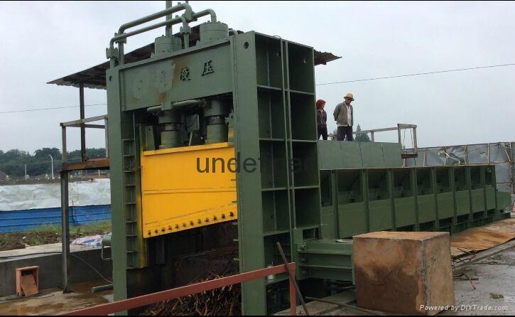 江陰全自動廢鋼液壓打包機 4
