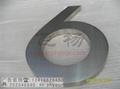 公司前台鈦金字金色廣告字 2
