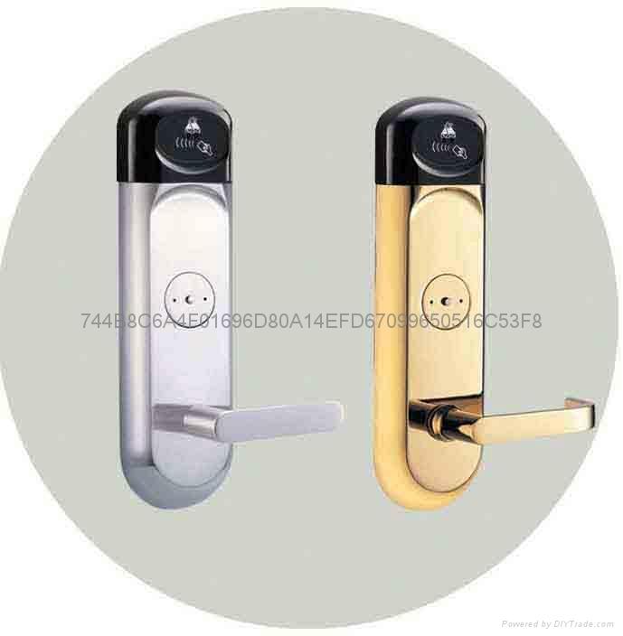 Hotel  key card lock 2