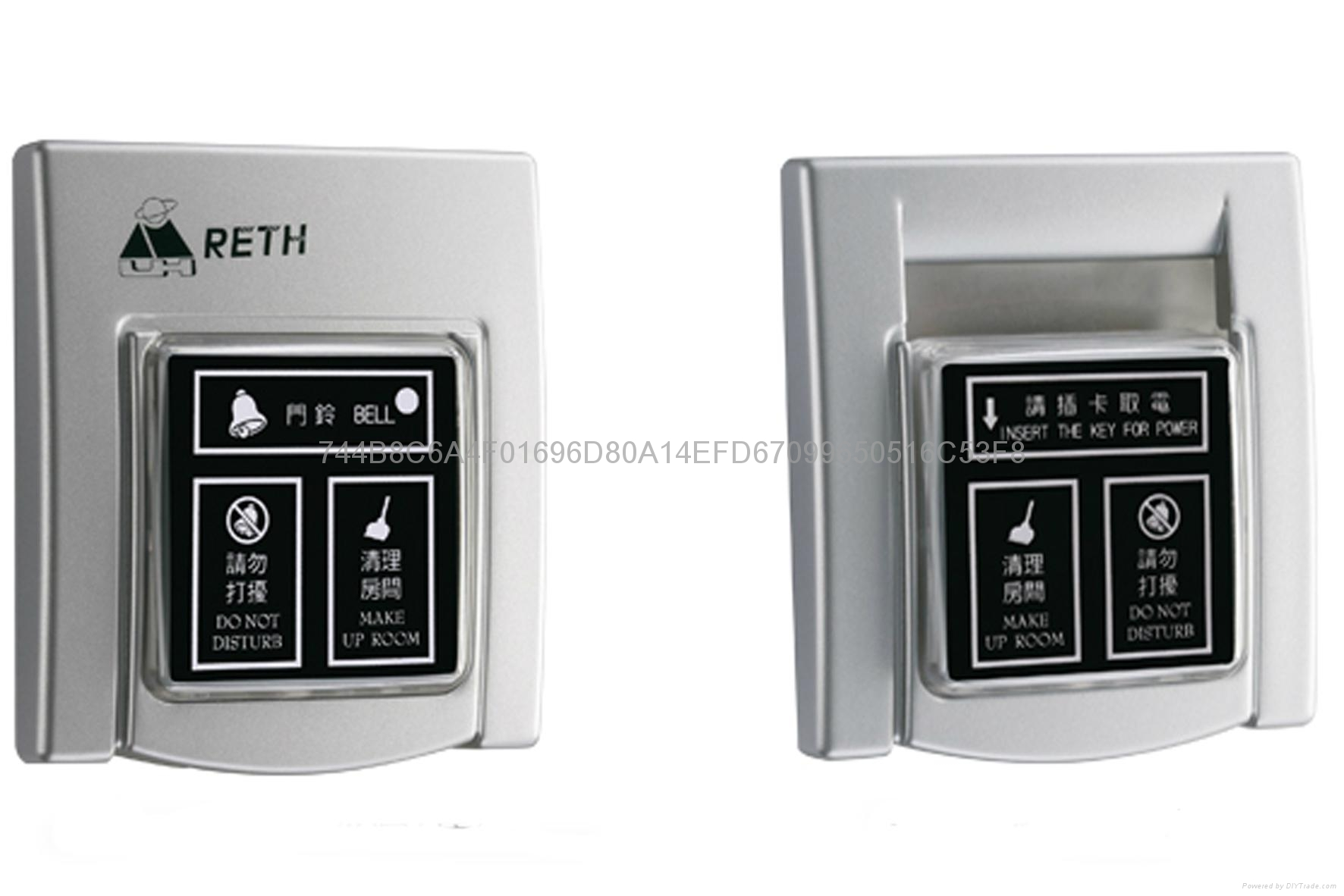 Energy saving with touch panel 1