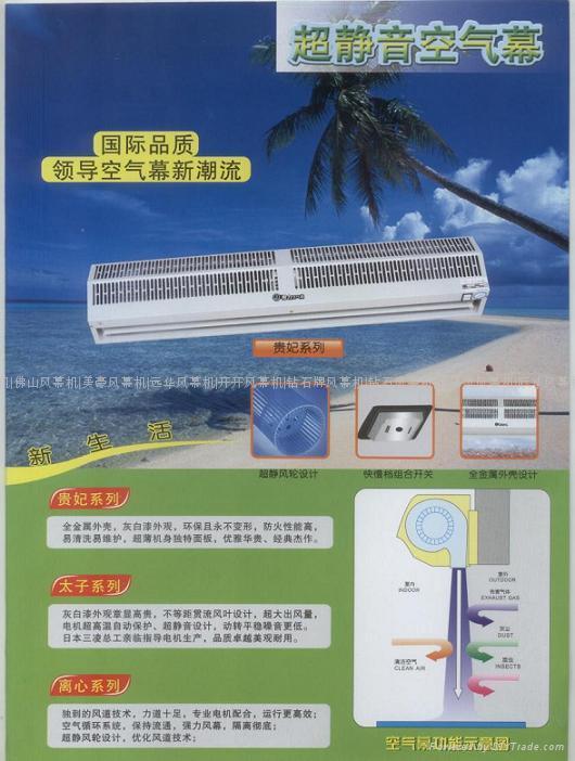 風幕機(FM-1212加強型)