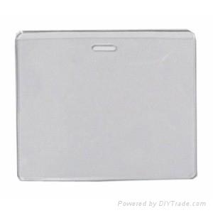 PVC ID Badge Pocket Holder 2