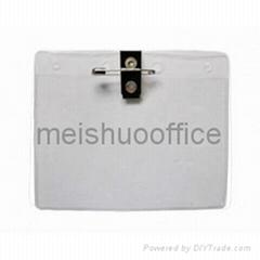 Flexible badge wallets