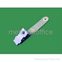 Plastic Badge Clip with PVC strap