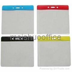 PVC Flexible Badge Wallets