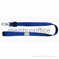 Flat Lanyard with Plastic Stress Ball