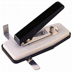 Hand Held Slot punch with adjustable