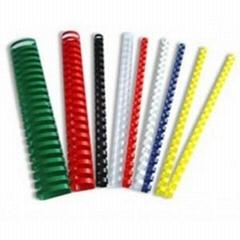 Plastic binding comb