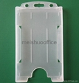 One Sided Open Face Card Holder Hold 4