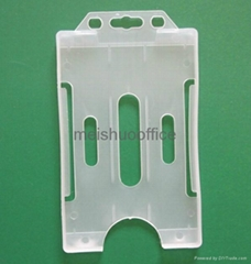 One Sided Open Faced Name Card Holder Hold 3 Cards