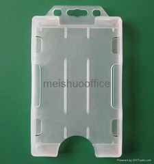 Double Sided Open Faced Card Holder Hold 6 Cards