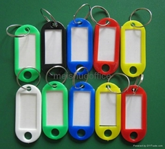 Outdoortips  Luggage ID Tags Labels Keyrings with Name Cards