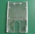Enclosed Id Card Holder