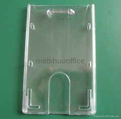Enclosed Id Card Holder