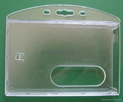 Horizontal Semi-clear Access Card Dispenser
