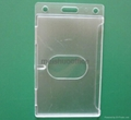Enclosed Id Badge Holder with Thumb Slot   4