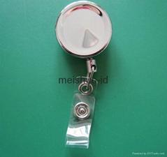 Zinc alloy Badge Reel wi